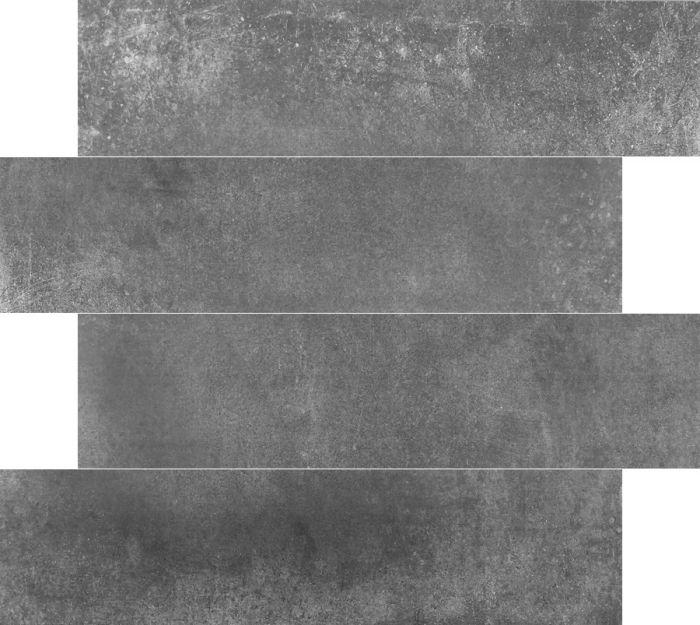 Betonlook tegel Antraciet 14,5×58,5cm (Keramiek)