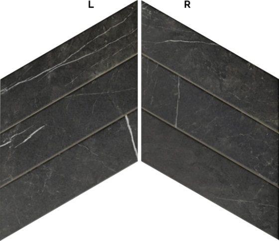 Diamond Marquina Chevron (L-R) 40×70